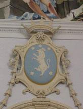 Stemma famiglia De Rosis (chiesa di Sant'Anna di Corigliano Calabro)