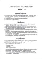 Bild: Seeligstadt Heimatverein Satzung