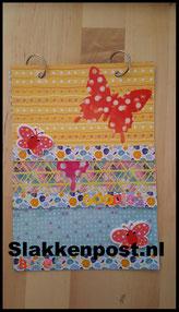 slakkenpost vlinder waterval flipbook