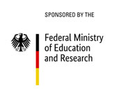 Logo Sponsored by Federal Ministry of Education and Research