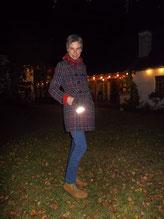 reflek-TIER erstrahlt an meinem Mantel