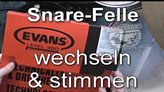 Snare-Drum stimmen - Happydrums (deutsch)