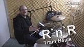 Schlagzeug lernen: Rock & Roll Train Beats