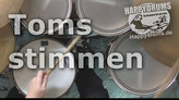 Toms stimmen - Happydrums (deutsch)