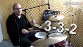 Schlagzeug lernen: Clocks Groove von Coldplay, Akzent-Verschiebung