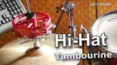 Schlagzeug lernen: Hi-Hat Tambourine Grooves, Rock, Pop