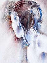 Silhouette-Aquarelle