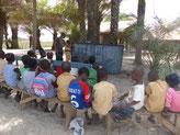 Schulunterricht im Freien