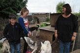 Unser Freund Matteo mit Schwester Luana