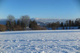 Blick gegen die Berner Alpen