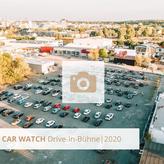 Impressionen von CAR-WATCH, der Drive-In Bühne in Köln, Car Watch Autokino
