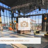 Impressionen aus dem Patchwork Studio. Die Streaming-Bühne der HALLE Tor 2