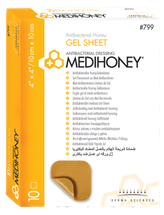 Medihoney antibakterielles Gel Sheet Produktfoto