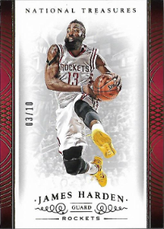 JAMES HARDEN / Parallel - No. 37  (#d 3/10)