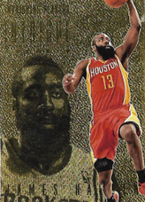 JAMES HARDEN / Gold Version - No. 42  (#d 5/10)