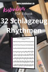 Kostenlose Schlagzeugnoten E-Book PDF