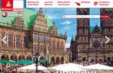 Bremer Fußgängerzone, Shopping und Sehenswürdigkeiten