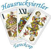 Die Trull im Logo des Hausruckviertler Tarockcups