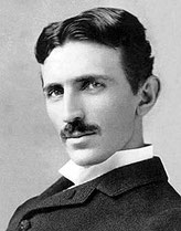 Nikola Tesla (* 1856 – † 1943)