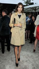 Alexa Chung trench coat