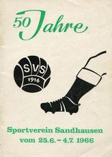 50 Jahre SV Sandhausen ( 1966 )
