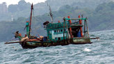 Fischerboot vor Sihanoukville