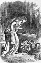 Freya in der Zwergenhöhle; Bild: Louis Houard