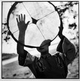 Sophie Zénon. Danseuse nanaïe, 2001, photographie.