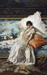 Eugenio Scomparini, Margherita Gauthier, 1890