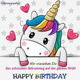 Geburtstagswünsche für Kinder
