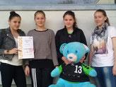 Bild (v.l.): Nicole Deck, Leonie Dangelmaier, Selina Marks, Stephanie Zepf.