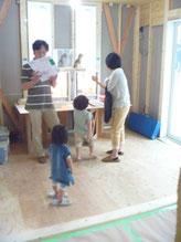 「呼吸する家」建物構造見学会