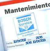 Libro de mantenimiento con revisión oficial sellada. Sellamos el libro de mantenimiento de tu vehículo y conservamos la garantía de origen del vehículo.