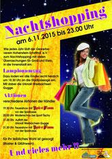 06.11.2015 Nachtshopping Hohenstein-Ernstthal Programm