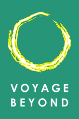 The logo of Voyage Beyond is based on Ensõ, a sacred symbol in the Zen school of Buddhism.
