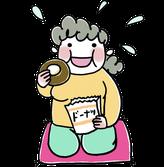 胃腸トラブル症状のイメージイラスト