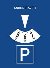 In den Baustellenbereichen der Innenstadt kann jetzt mit einer Parkscheibe zwei Stunden lang kostenfrei geparkt werden