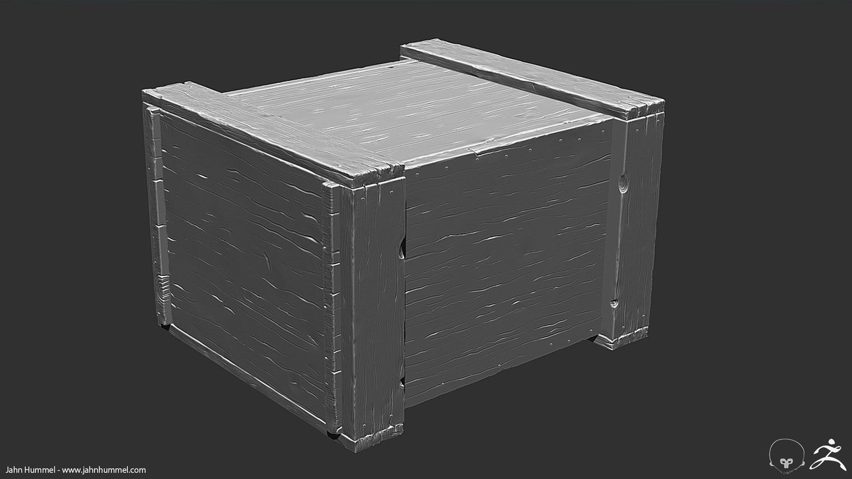 Wooden Crate Sculpt