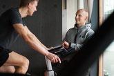 Christian Kraus beim Personal Training in Zürich . Leistungssteigerung. Workout