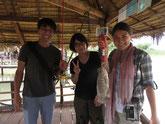 淡水魚研究家 佐藤智之さんとトンレサップ湖へ!|オークンツアー|現地ツアー