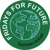 Fridays for Future FfF Sachsen-Anhalt ST Klimastreik Avatar Logo #KlimastreikST #Klimastreik #Schulstreik #Schulschwaenzen Schulschwänzen Schulstreik
