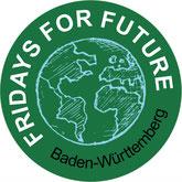 Fridays for Future FfF Baden-Württemberg Klimastreik Avatar Logo