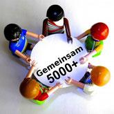 Telegram Gruppen Avatar 5000 Plus gemeinsam sind wir noch viel stärker