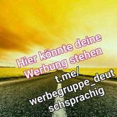 Werbegruppe deutschsprachig Deutsch Telegram Avatar