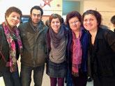 ...und eine deutsche Familie, die seit vielen Jahren im Libanon lebt.