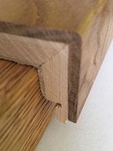 Echtholz Treppenkanten T&W Typ B