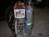 高張力鋼板対応溶接機