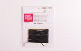Stretch-Magic Gummi 0,8 mm schwarz