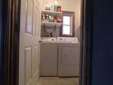 Baker House laundry room