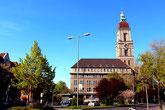 Rathaus Friedenau. Foto: Helga Karl